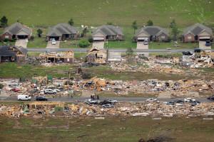 Vilonia, AR tornado damage (Danny Johnston/AP photo)
