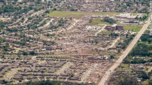 Moore, OK EF5 tornado damage, 2011. CNN.