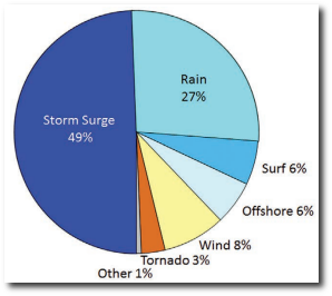 Cause of tropical cyclone deaths. Credit Rappaport, 2014.