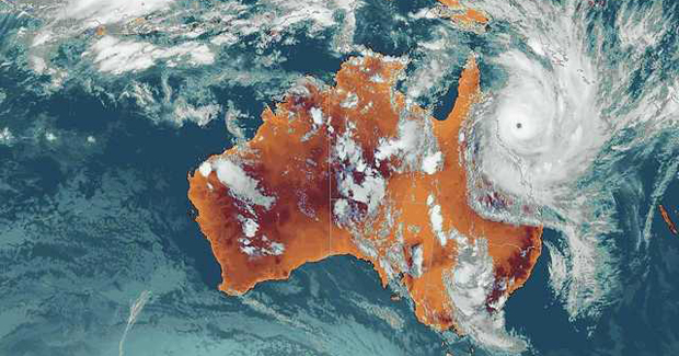 cyclone_yasi - credit BOM from Australian Geographic