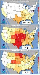 tornado season by month
