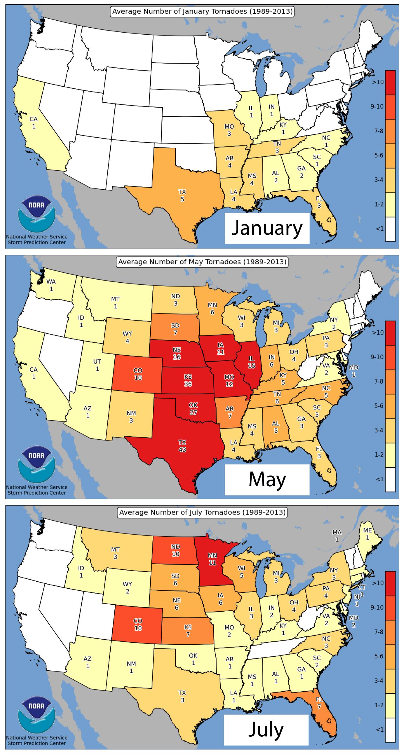 Hazard mitigation blue skies meteorological services tornado season by month publicscrutiny Gallery