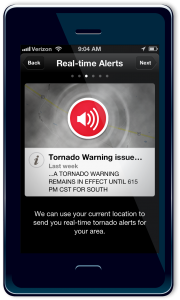 cell phone weather alerts