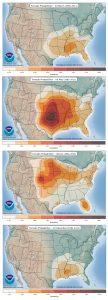 ornado Probability throughout the Seasons